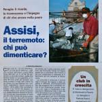 Le fornelle e il terremoto ad Assisi