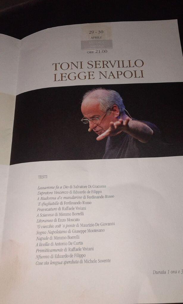 SERVILLO TEATRO CUCINELLI
