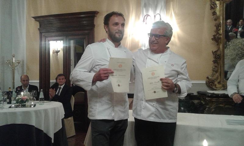 la coppia di Chef IGLES CORELLI E DANILO CIAVATTINI